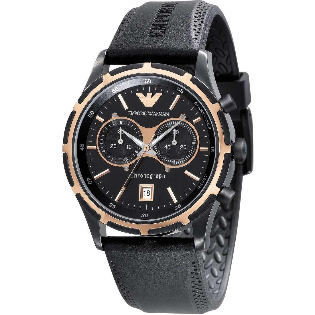 montre chronographe homme Emporio Armani AR0584
