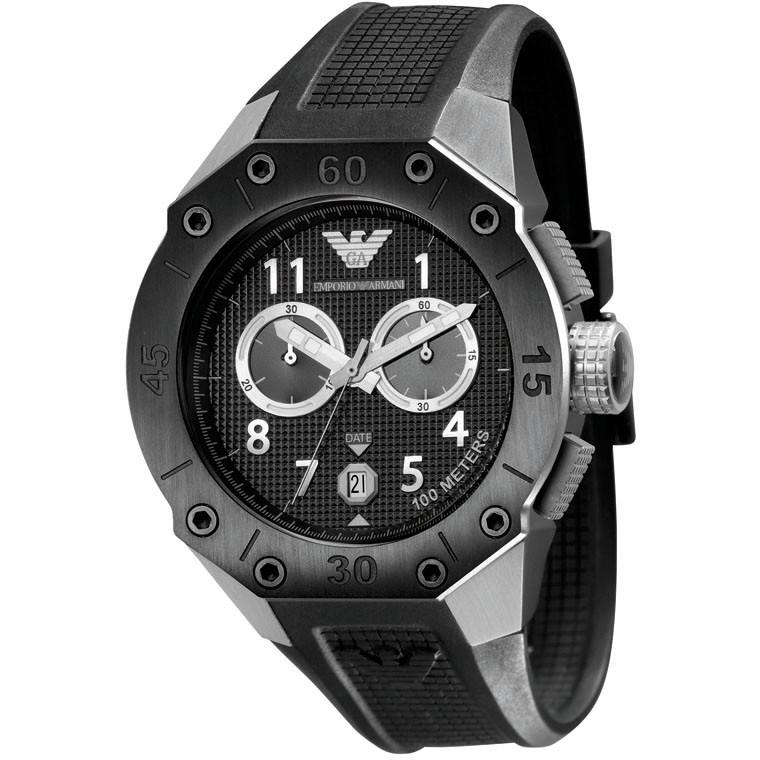 montre chronographe homme Emporio Armani AR0665