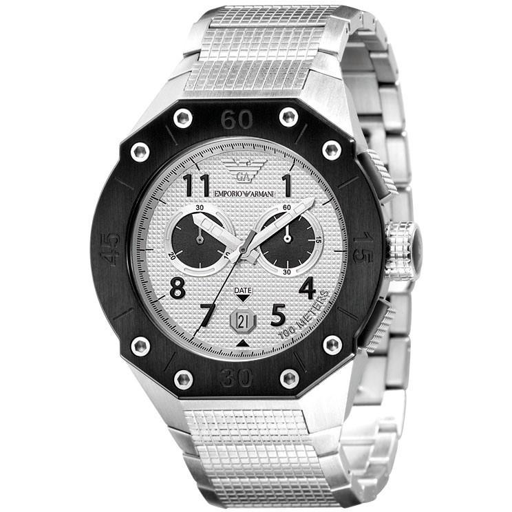 montre chronographe homme Emporio Armani AR0666