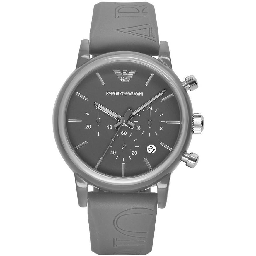 montre chronographe homme Emporio Armani AR1055
