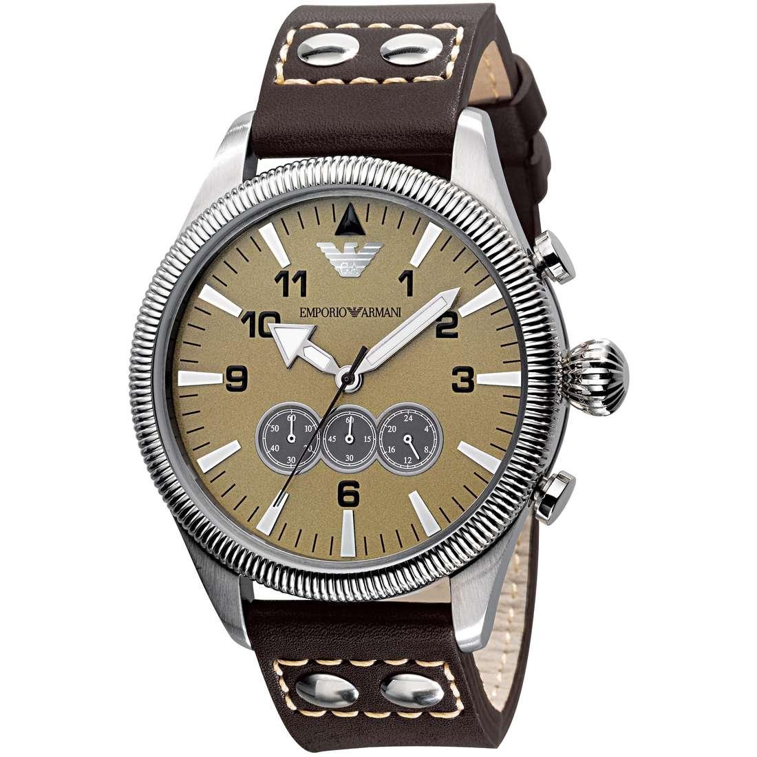 montre chronographe homme Emporio Armani AR5837
