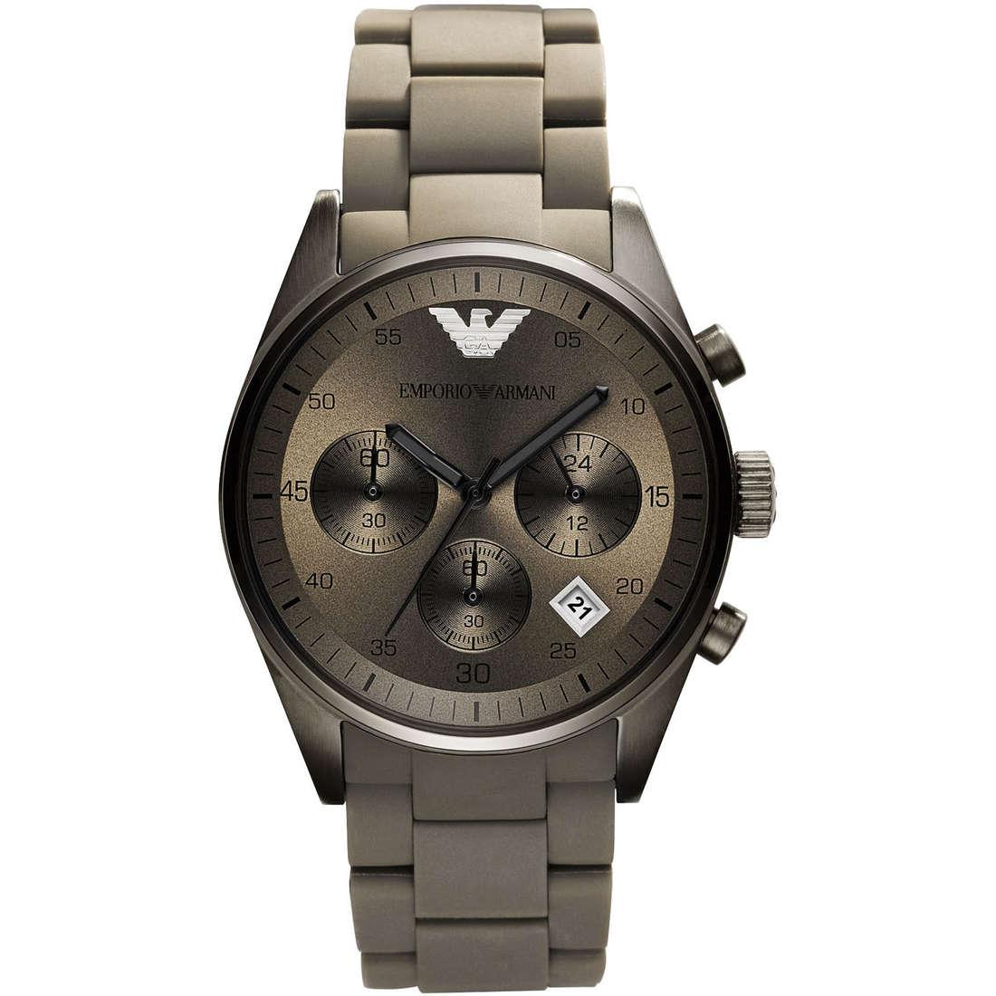 montre chronographe homme Emporio Armani AR5950