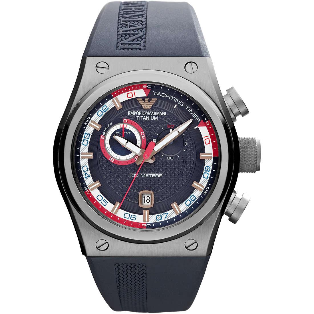 montre chronographe homme Emporio Armani AR6107