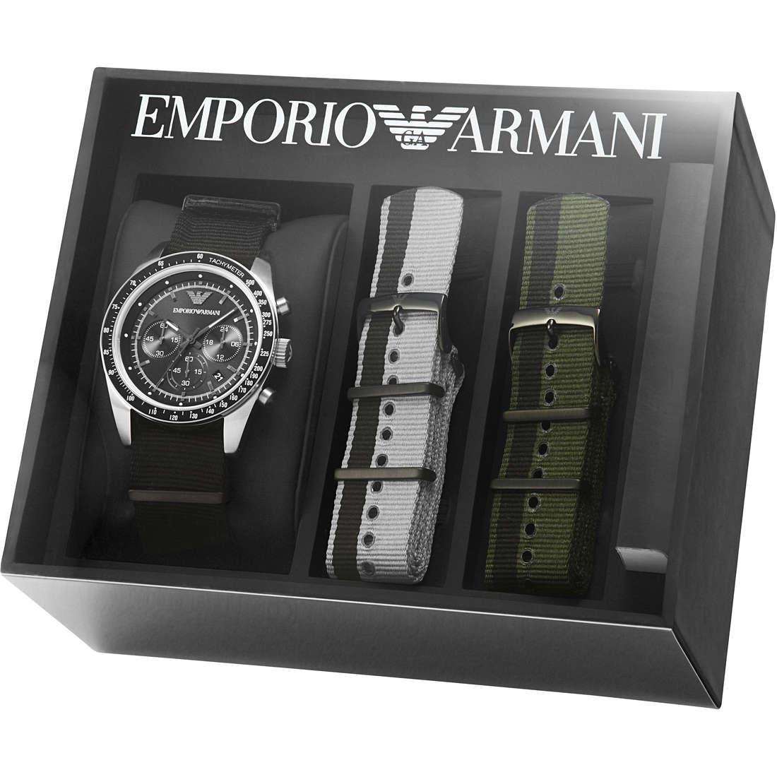 montre chronographe homme Emporio Armani AR6109