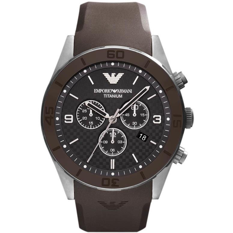 montre chronographe homme Emporio Armani AR9501