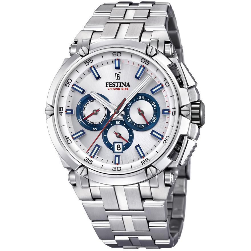 c628955d2f14f montre chronographe homme Festina Chrono Bike F20327/1 chronographes ...