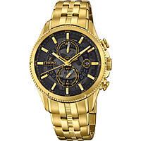montre chronographe homme Festina Prestige F20269/3