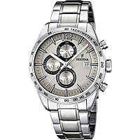 montre chronographe homme Festina Timeless Chronograph F16759/2