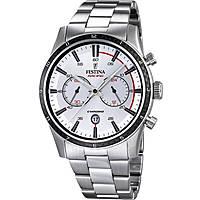 montre chronographe homme Festina Timeless Chronograph F16818/1