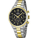 montre chronographe homme Festina Timeless Chronograph F16821/4