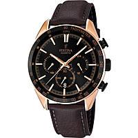 montre chronographe homme Festina Timeless Chronograph F16846/1