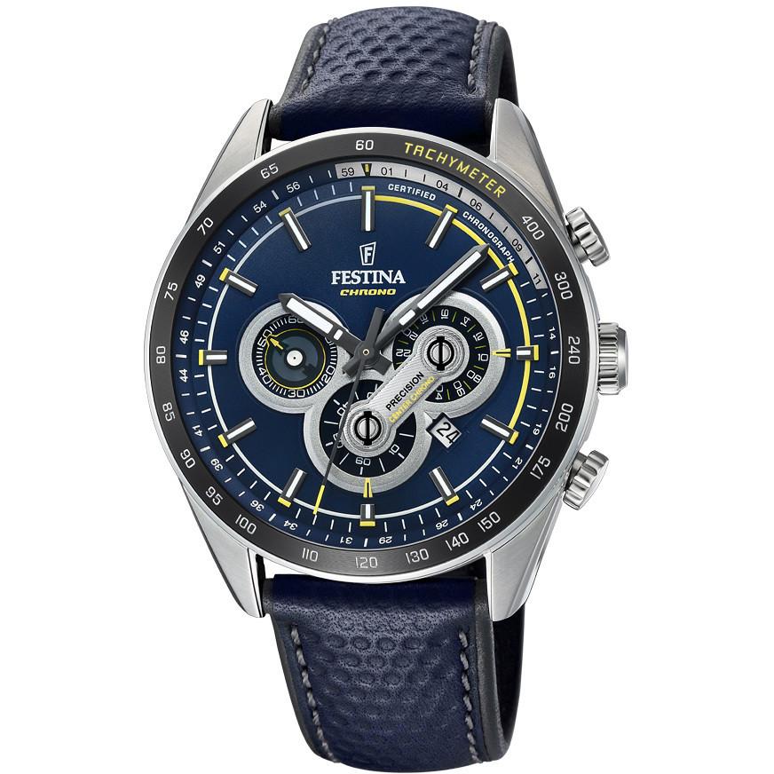 be34b9cab5 montre chronographe homme Festina Timeless Chronograph F20202/2. zoom