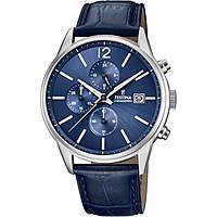 montre chronographe homme Festina Timeless Chronograph F20284/3