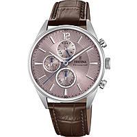 montre chronographe homme Festina Timeless Chronograph F20286/2