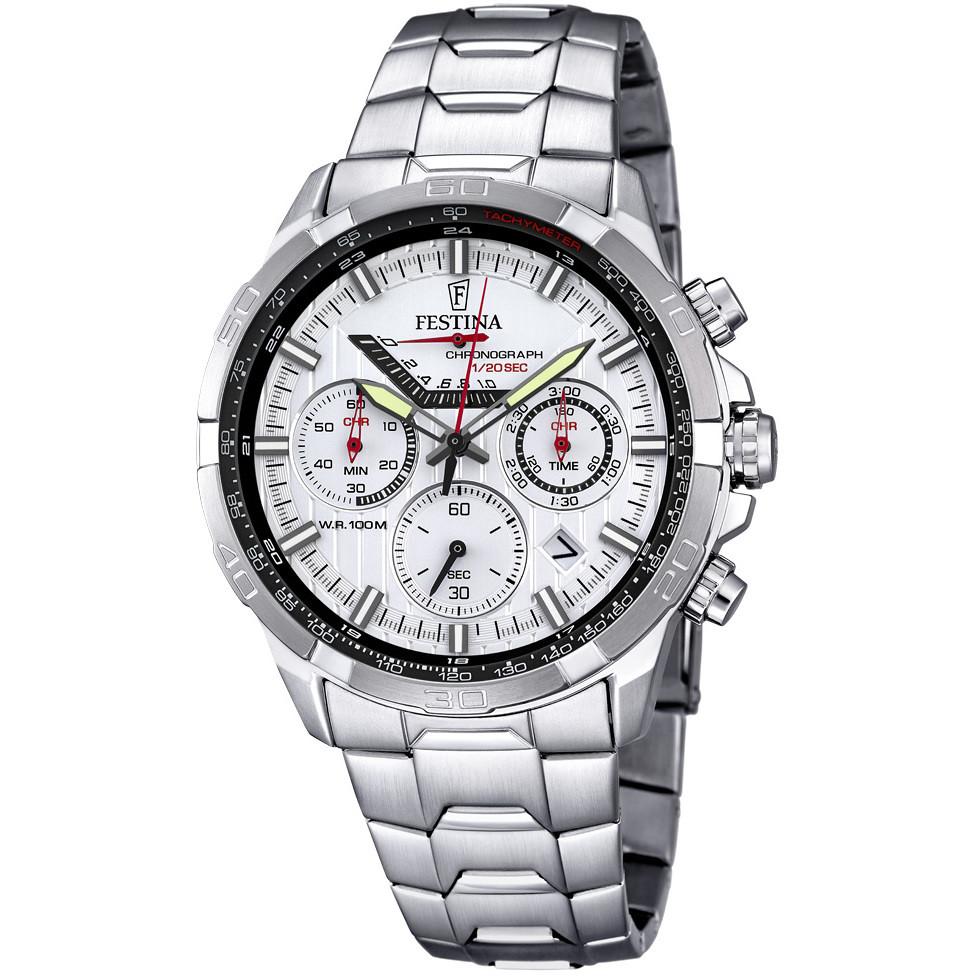 756243385c montre chronographe homme Festina Timeless Chronograph F6836/1. zoom