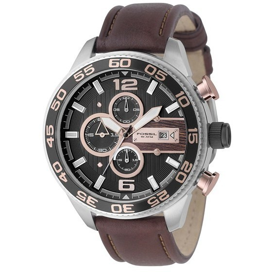 montre chronographe homme Fossil CH2559