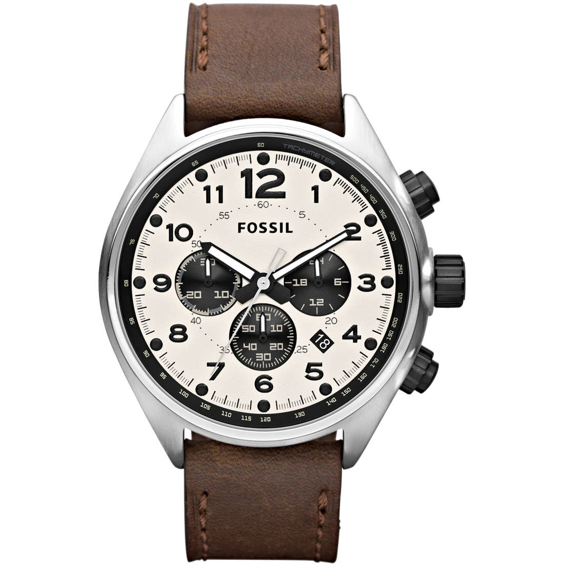 montre chronographe homme Fossil CH2835