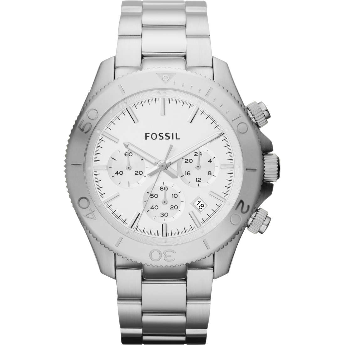montre chronographe homme Fossil CH2847