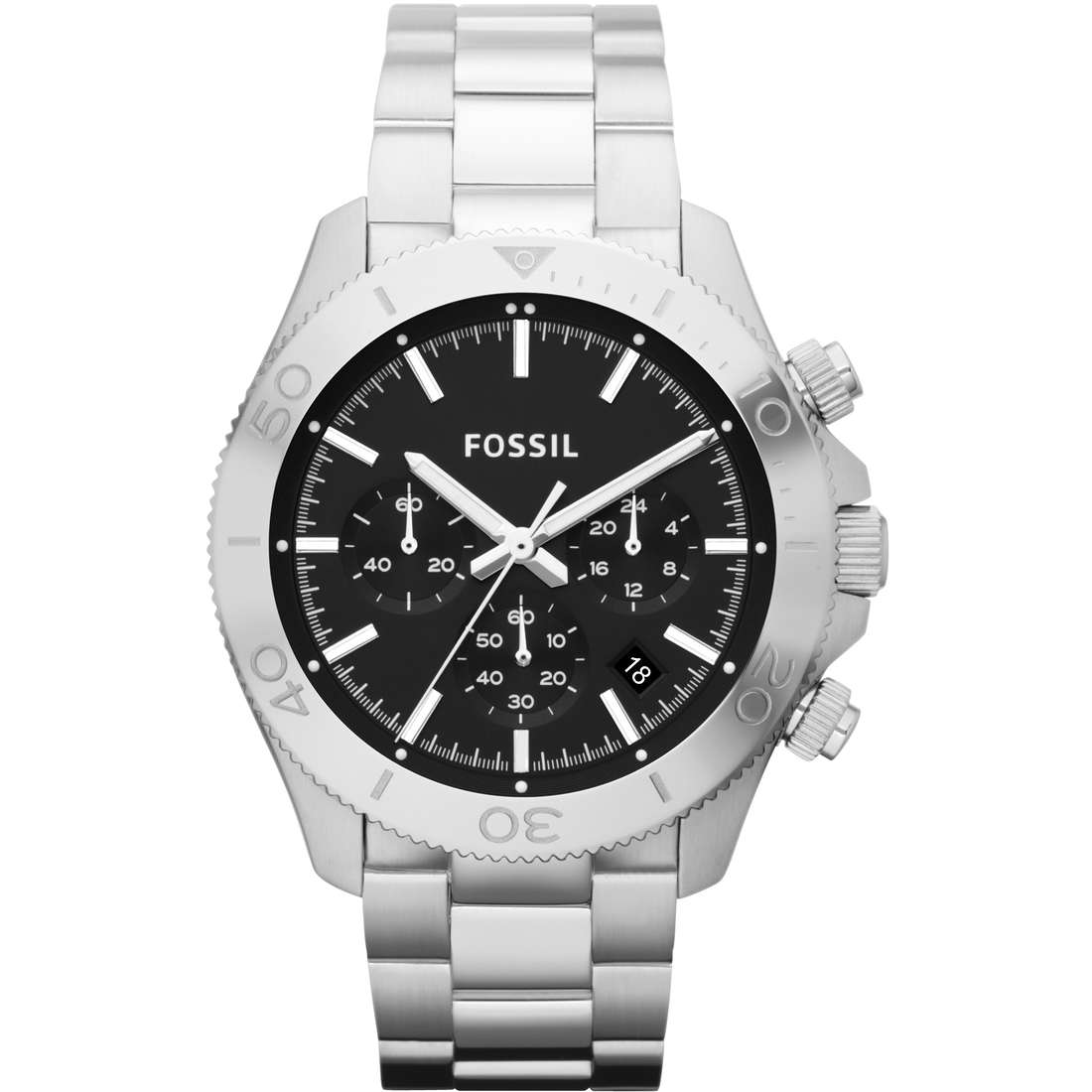 montre chronographe homme Fossil CH2848
