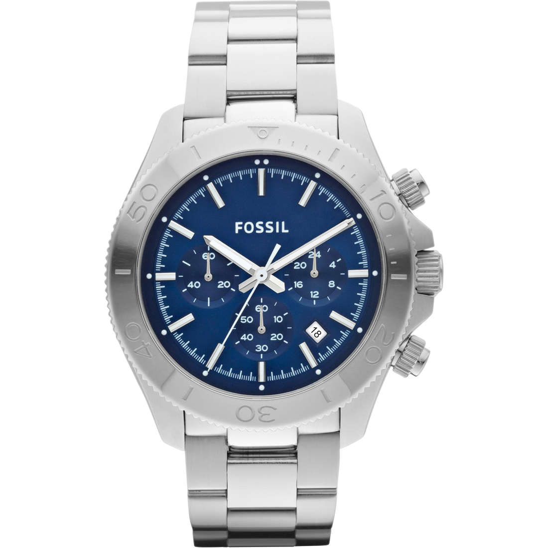 montre chronographe homme Fossil CH2849
