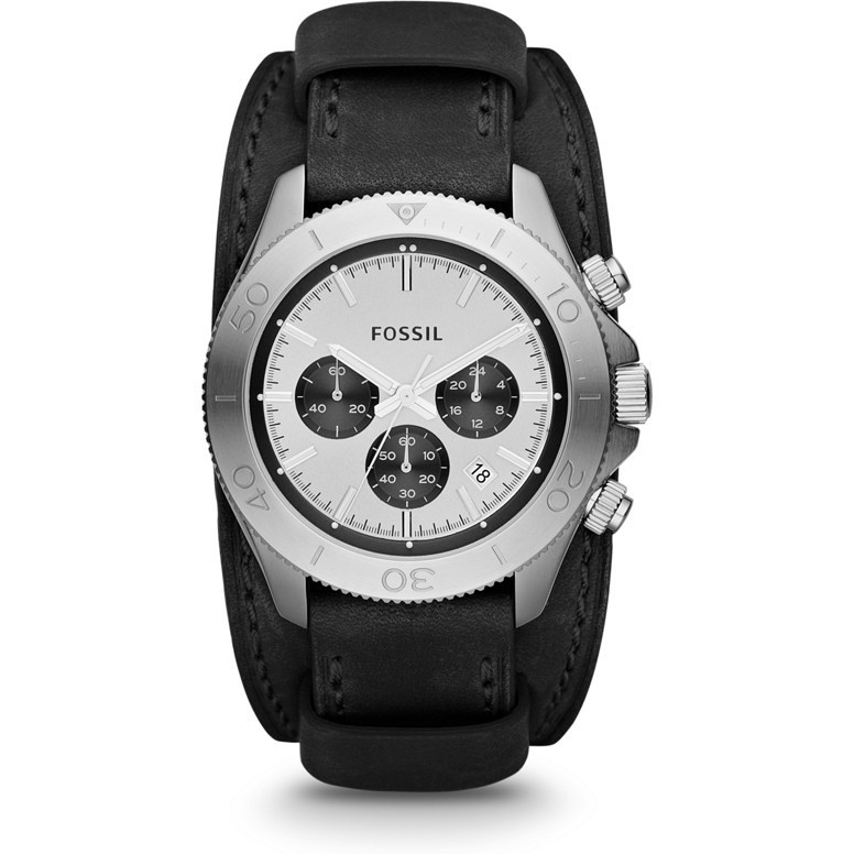 montre chronographe homme Fossil CH2856