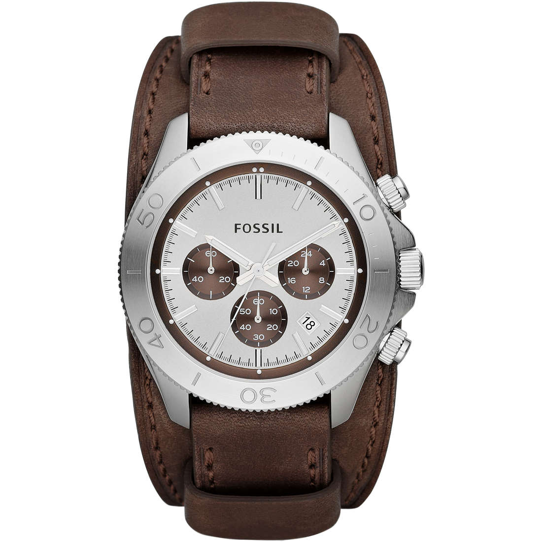 montre chronographe homme Fossil CH2857