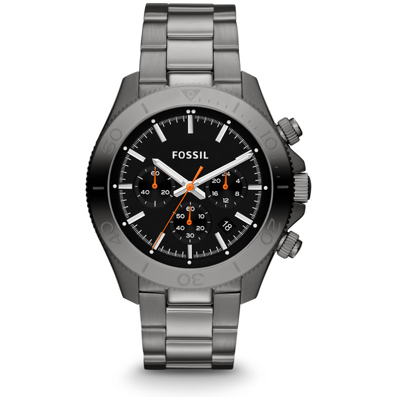 montre chronographe homme Fossil CH2864