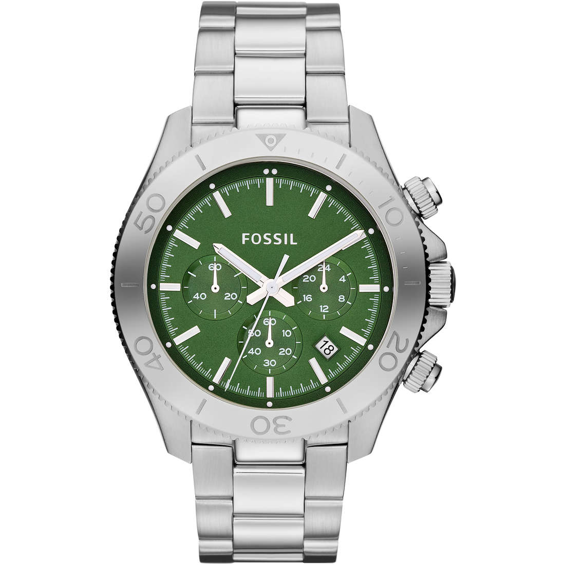 montre chronographe homme Fossil CH2867