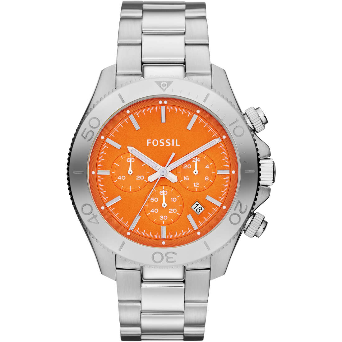 montre chronographe homme Fossil CH2868