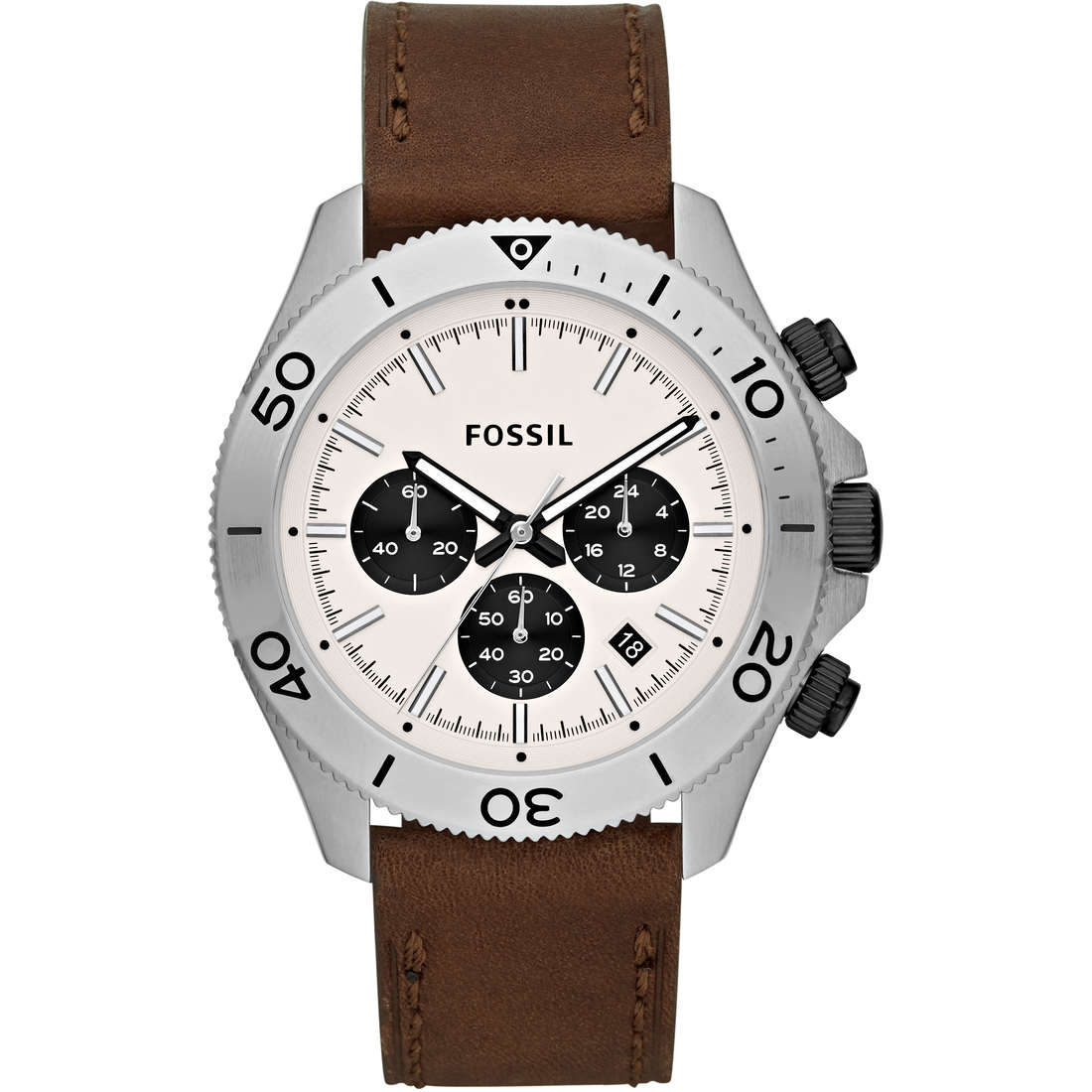 montre chronographe homme Fossil CH2886