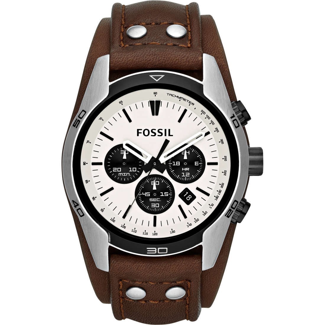 montre chronographe homme Fossil CH2890