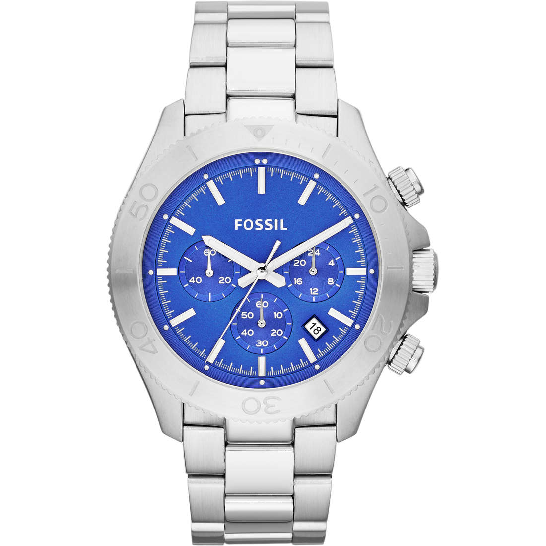 montre chronographe homme Fossil CH2894