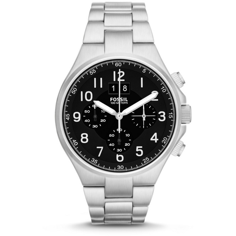 montre chronographe homme Fossil CH2902