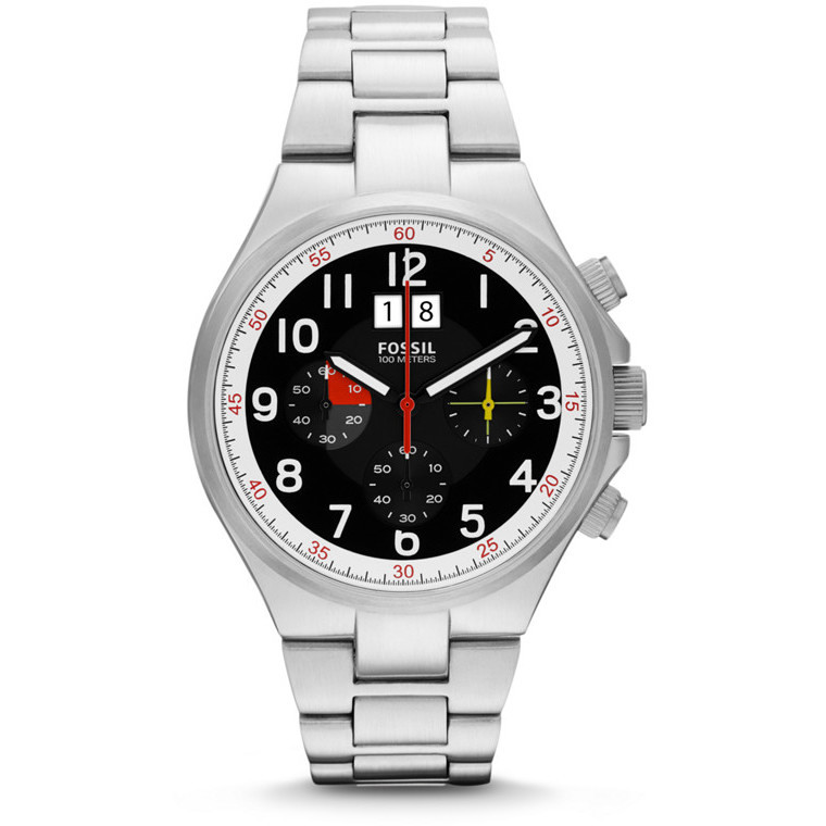 montre chronographe homme Fossil CH2909