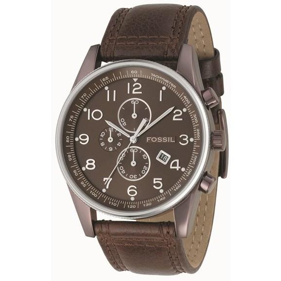 montre chronographe homme Fossil FS4309