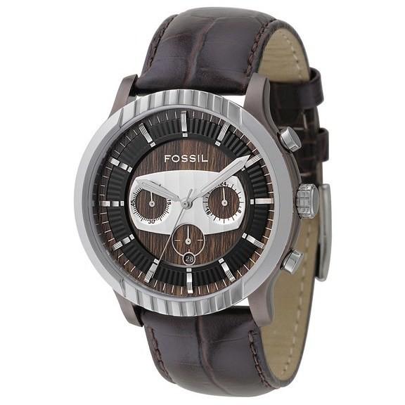 montre chronographe homme Fossil FS4441