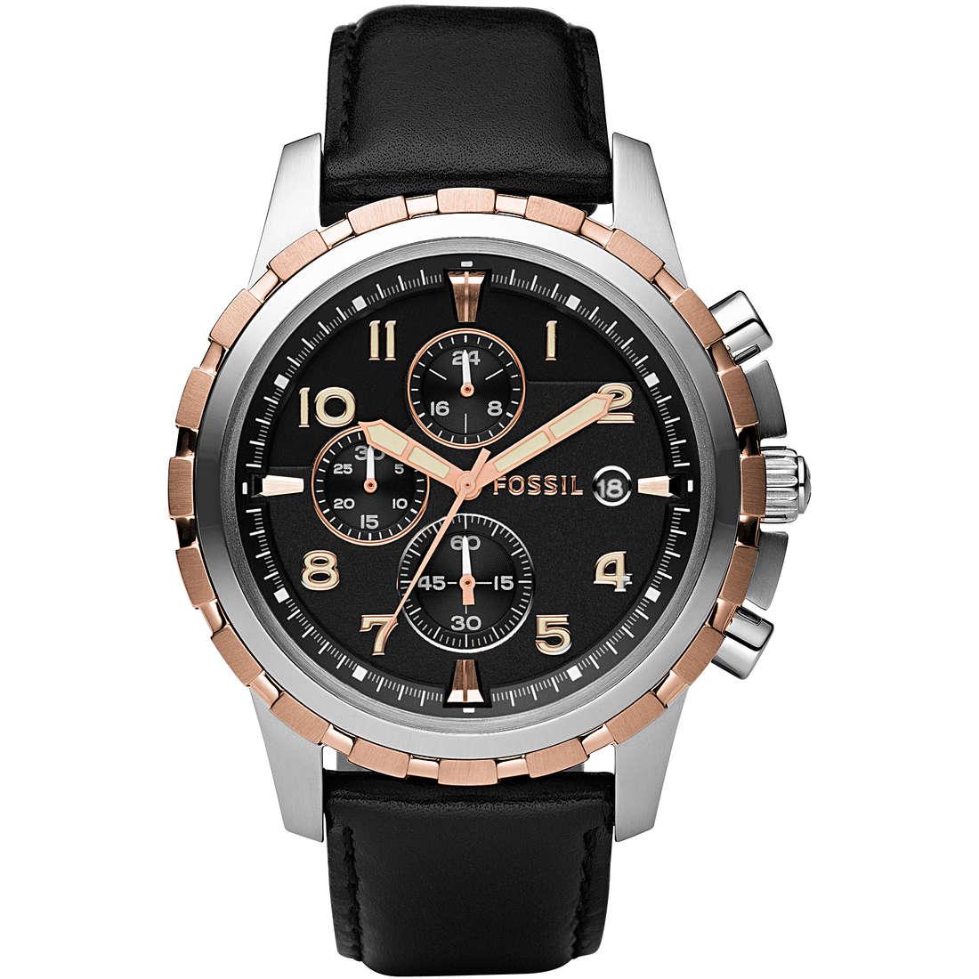 montre chronographe homme Fossil FS4545