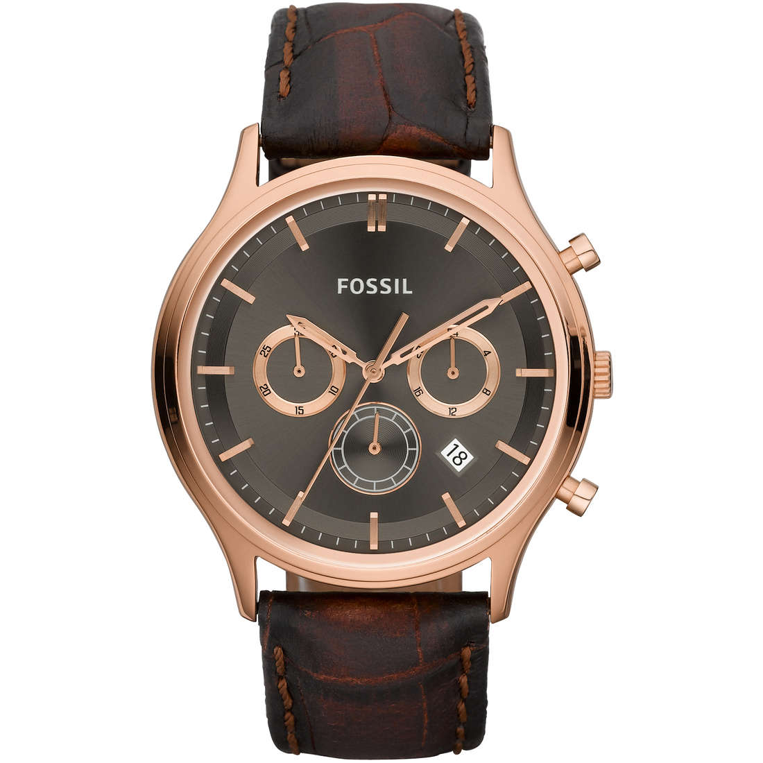 montre chronographe homme Fossil FS4639