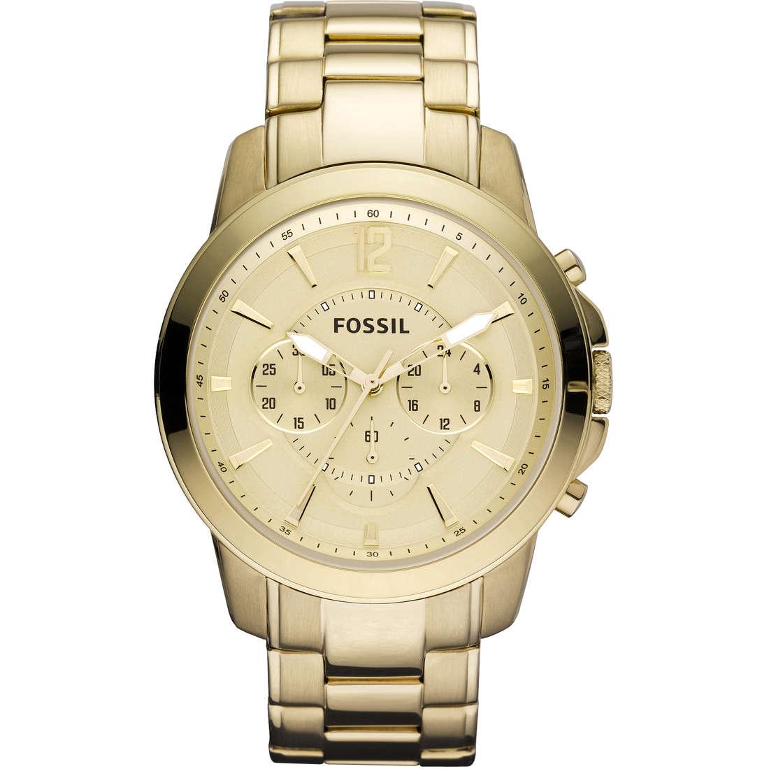 montre chronographe homme Fossil FS4724
