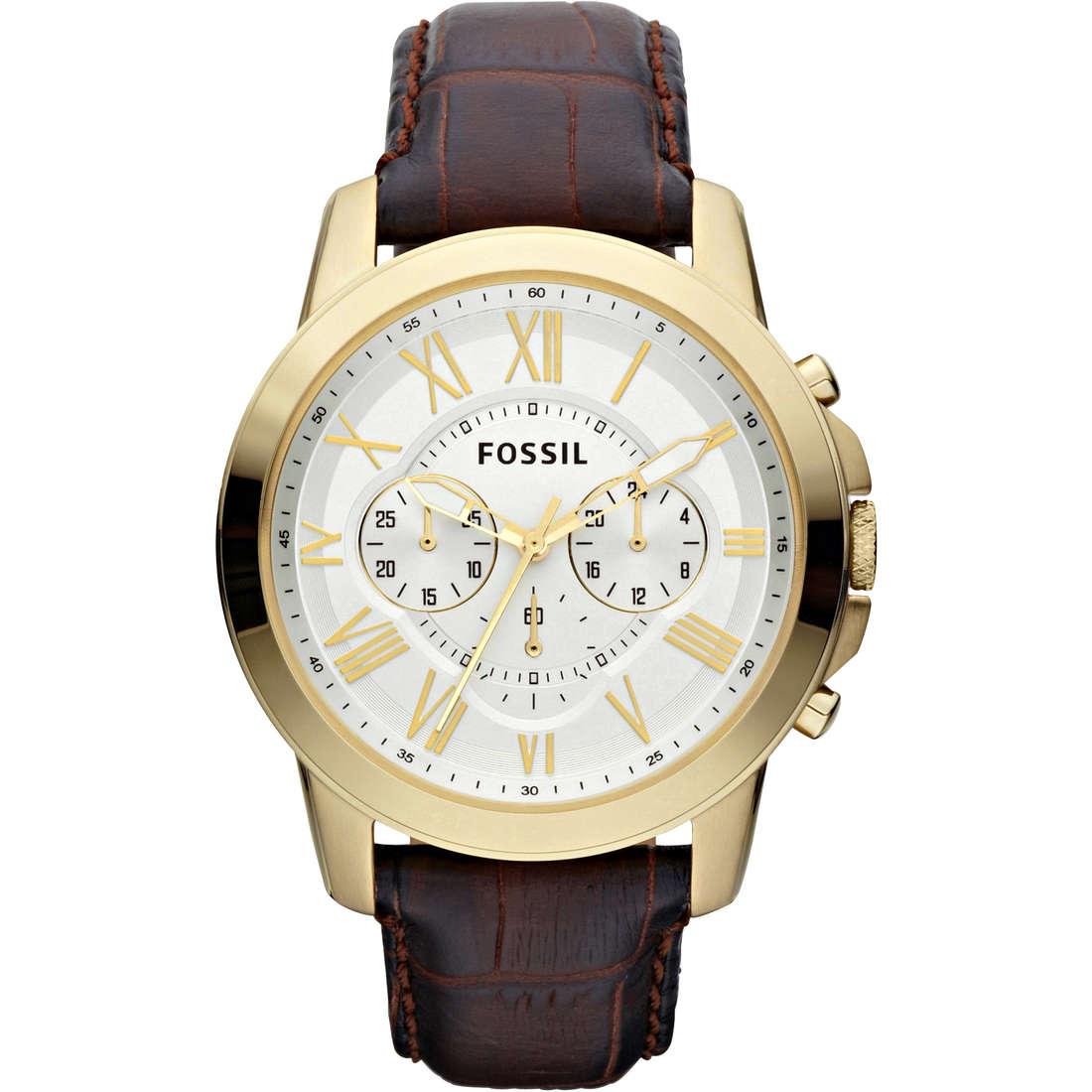 montre chronographe homme Fossil FS4767