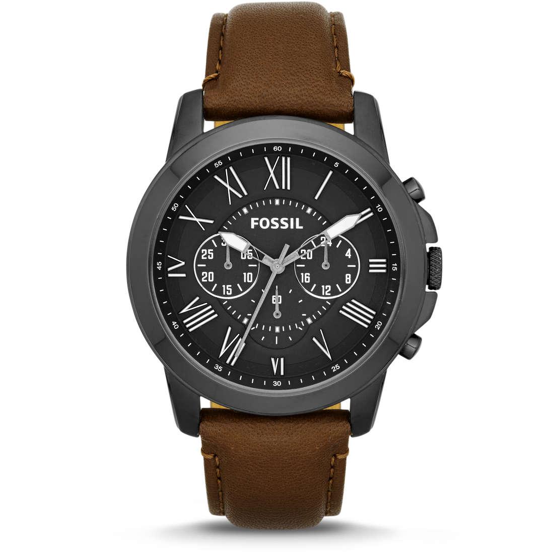 montre chronographe homme Fossil FS4885