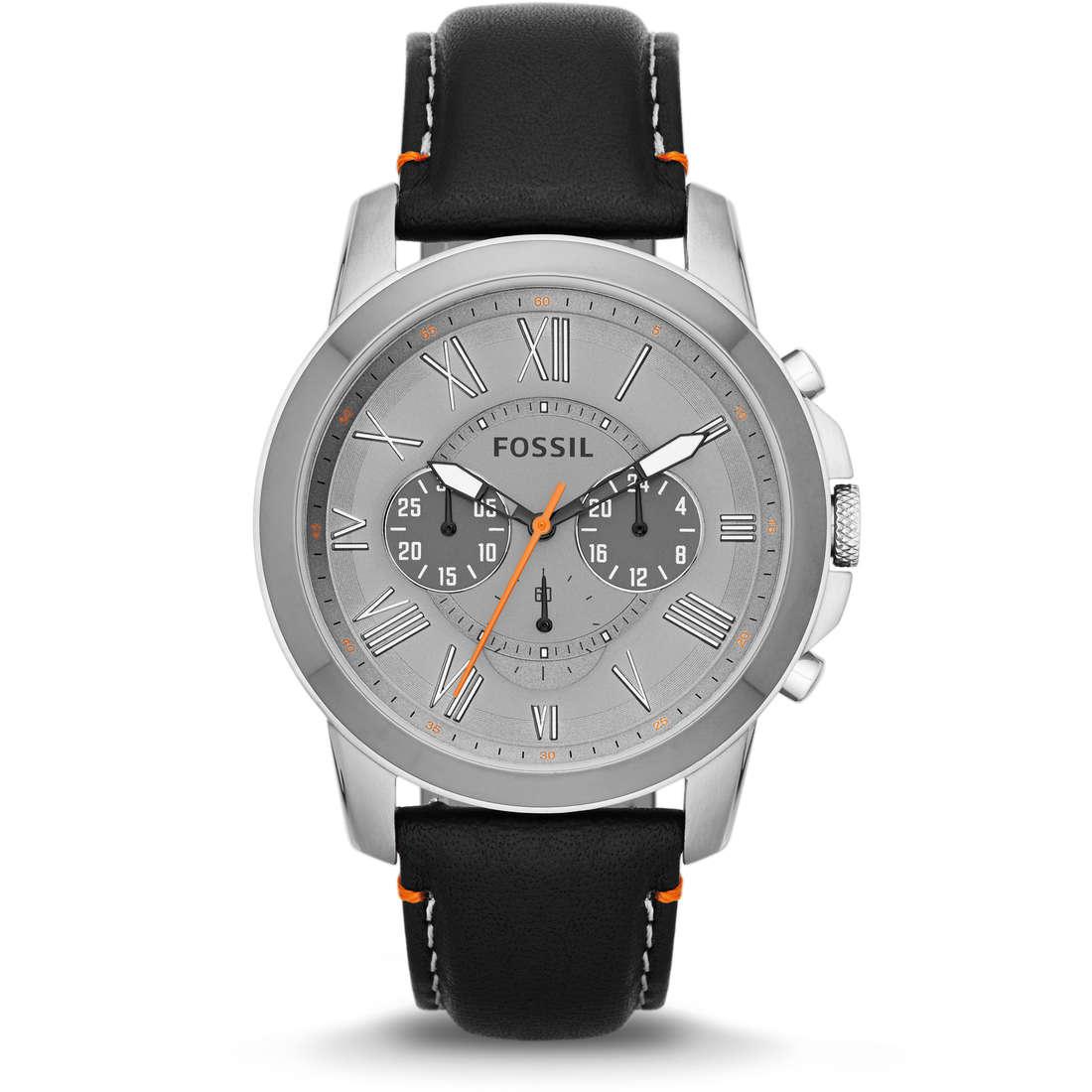 montre chronographe homme Fossil FS4886