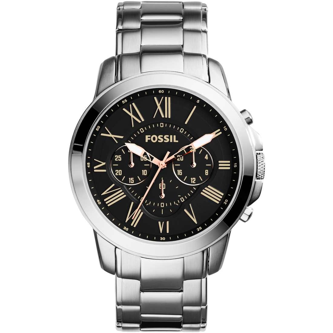 montre chronographe homme Fossil FS4994