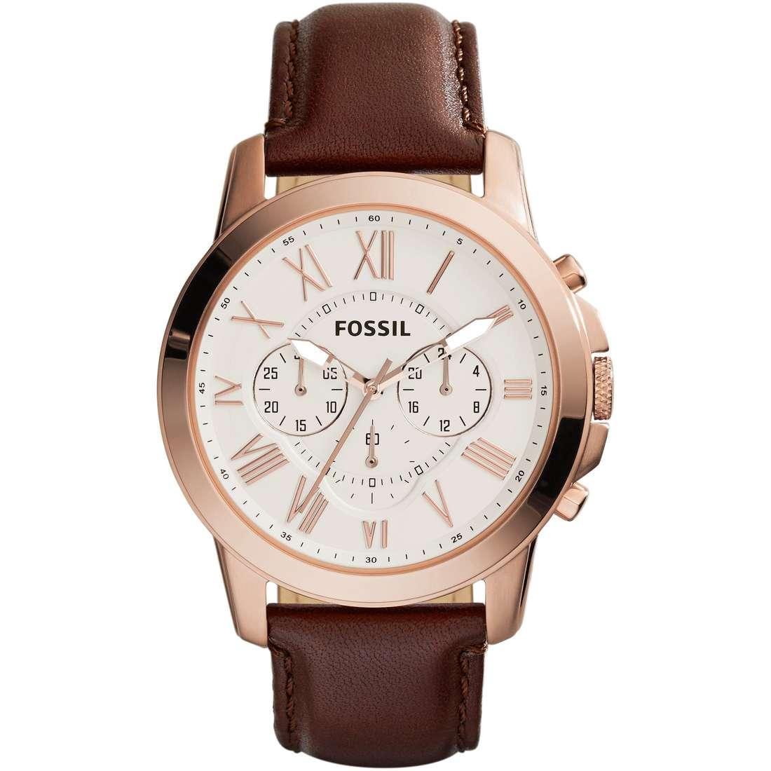 montre chronographe homme Fossil Grant FS4991