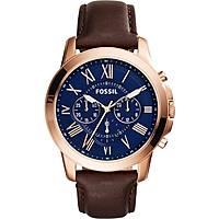 montre chronographe homme Fossil Grant FS5068