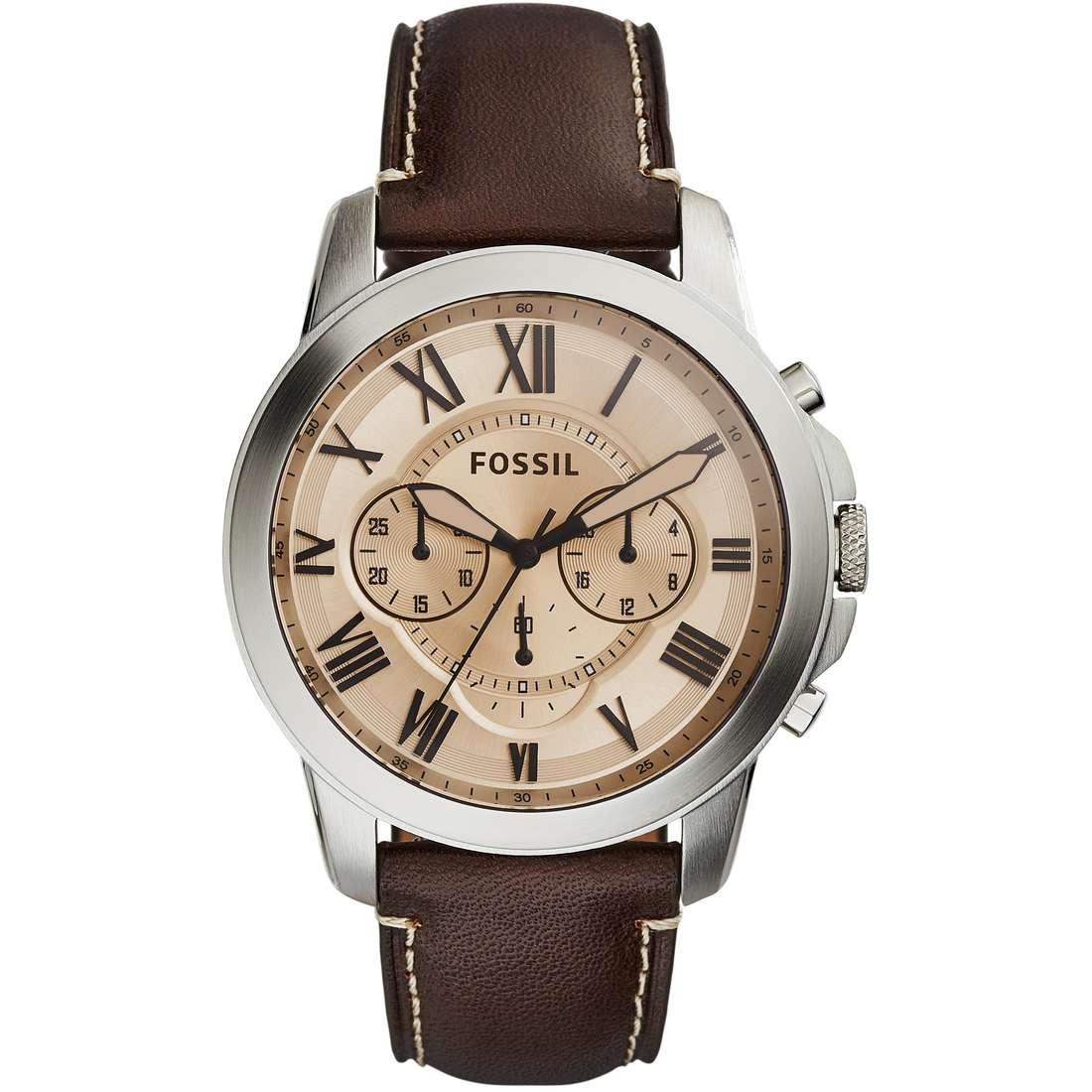 montre chronographe homme Fossil Grant FS5152
