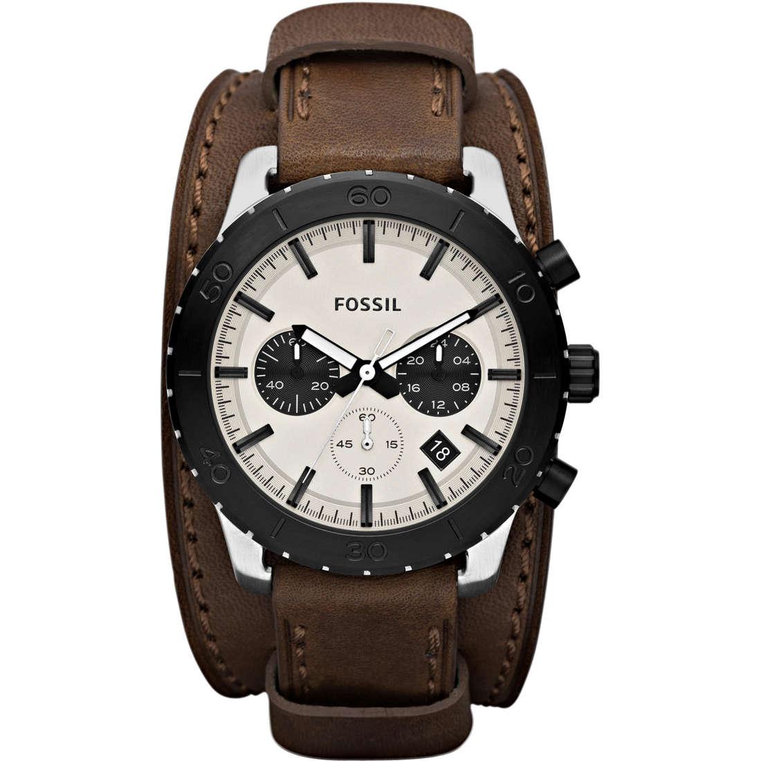 montre chronographe homme Fossil JR1395