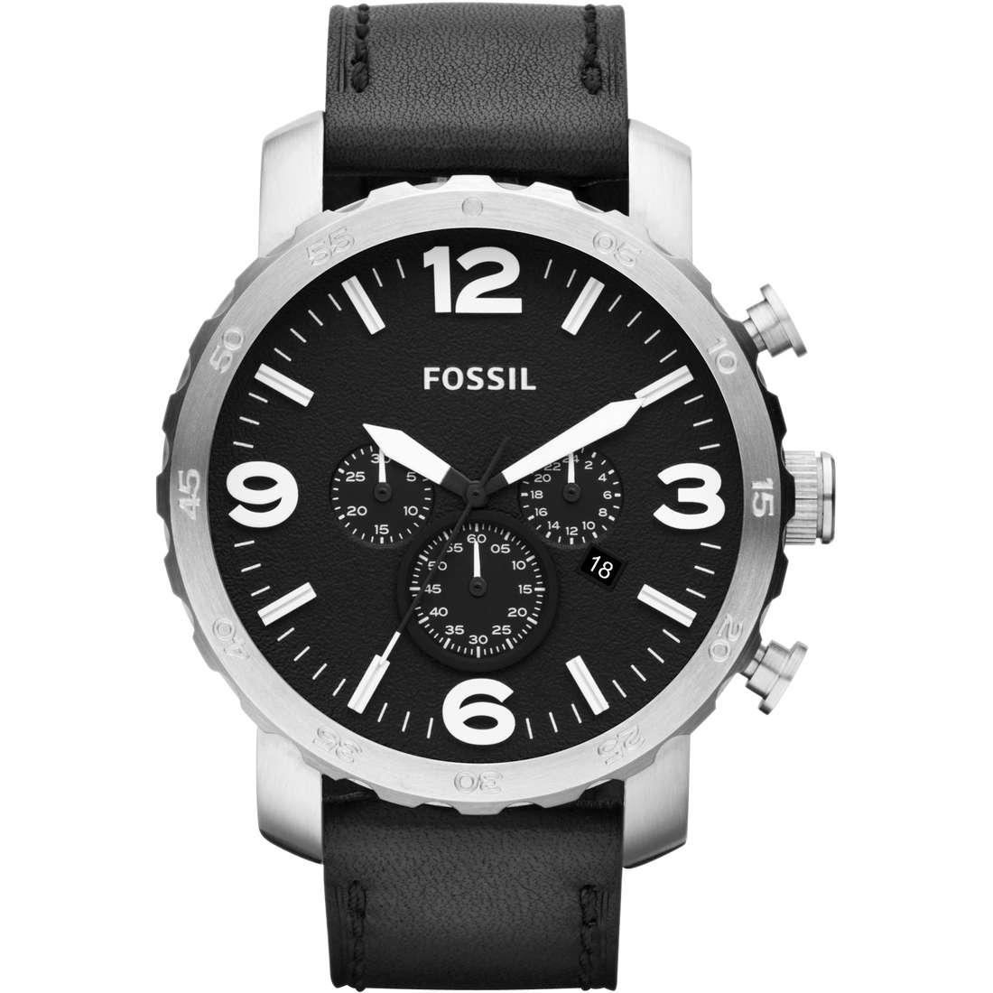 montre chronographe homme Fossil JR1436