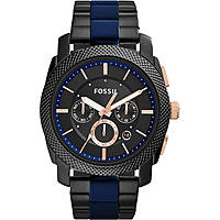montre chronographe homme Fossil Machine FS5164