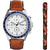 montre chronographe homme Fossil Sport 54 Box Set CH3090SET